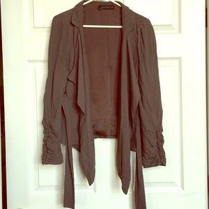 Gray Zara jacket/blazer